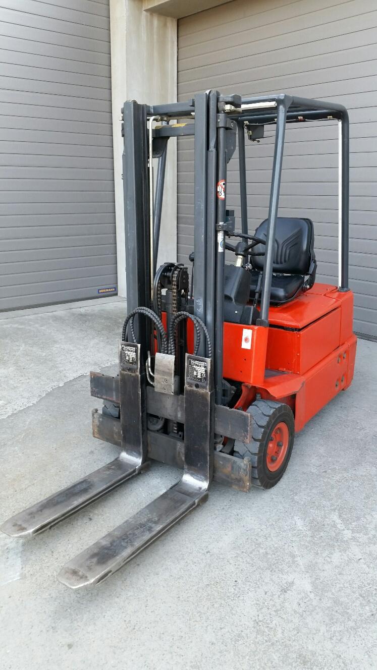 Oryginał wózek widłowy elektryczny Linde E15 MazurMaszyny.pl JW35